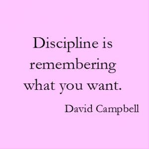 Campbell ueber die Disziplin